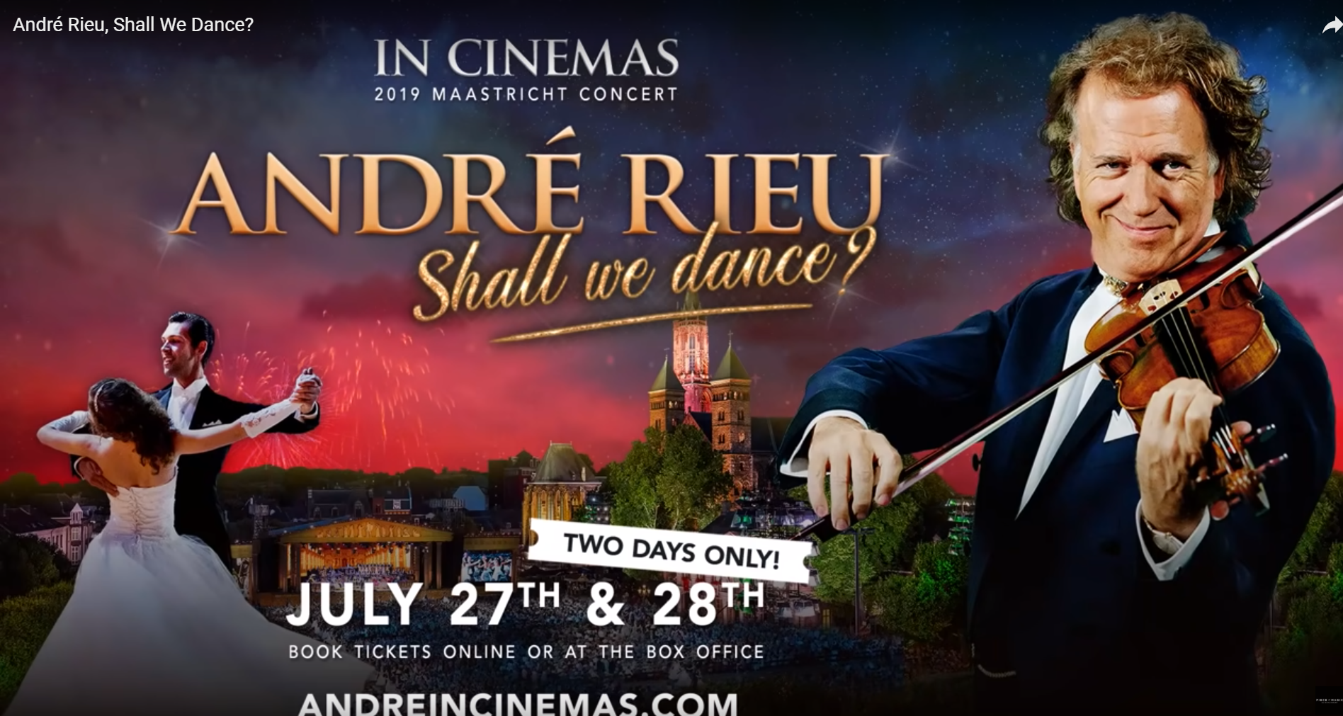 Andre in cinemas: shall we dance?