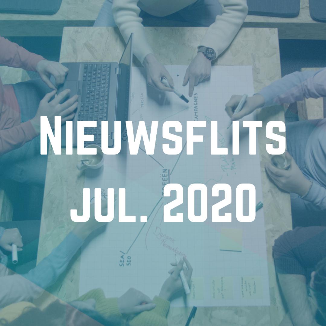 nieuwsflits juli 2020