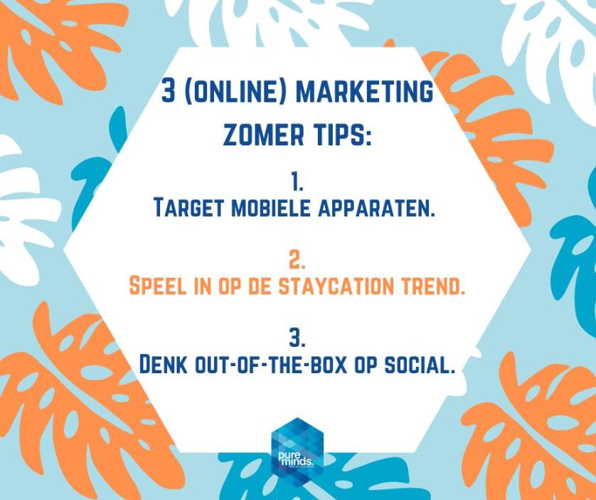 3 online marketing zomertips