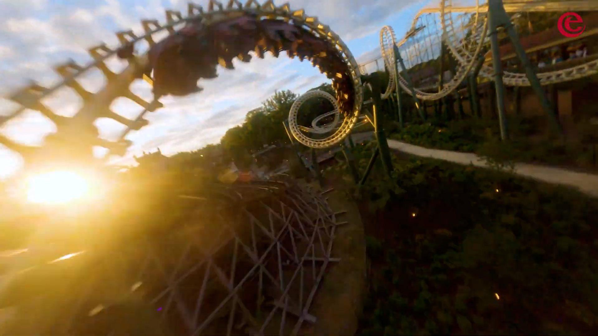 drone foto python efteling