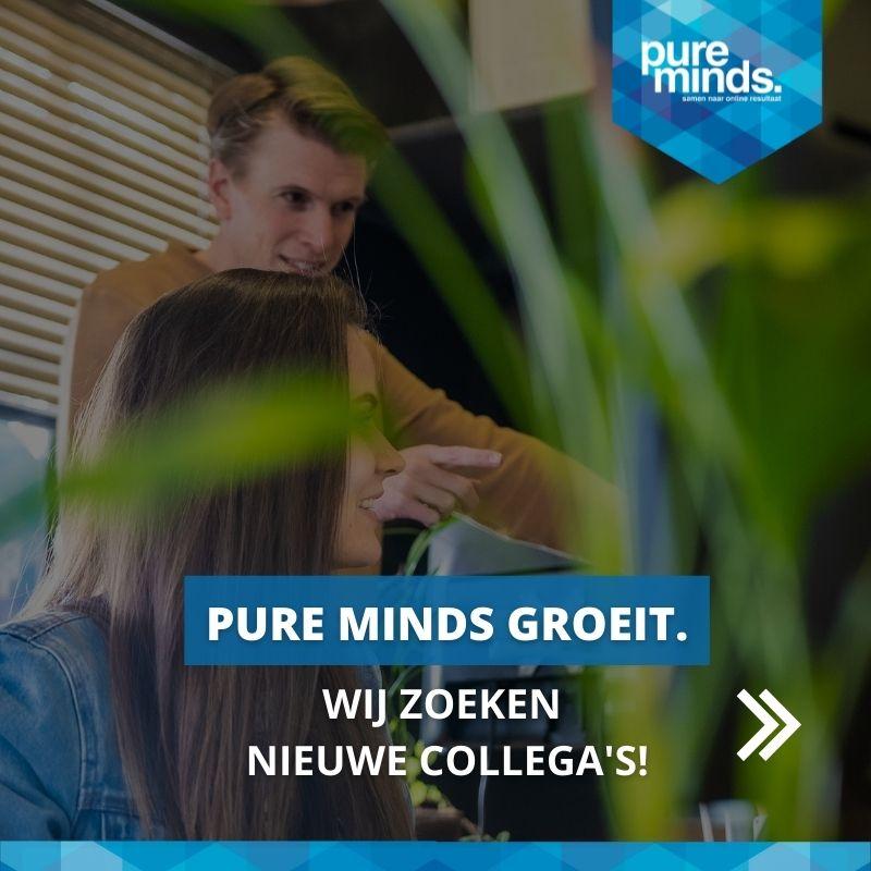 Pure Minds groeit. Wij zoeken nieuwe collega's!